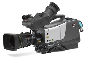 Grass Valley introduces Focus 75 Live camera for SNG, OB vans and studios.