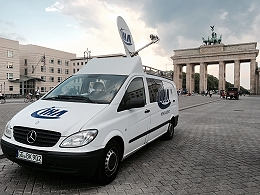 IHA provides SNG satellite truck hire services in Berlin, Germany.