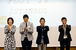 Fuji TV opens office in IHA's Istanbul headquarters.