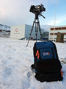 Broadcasters in Iceland, Greenland and the Faroe Isles adopt LiveU's cellular uplink transmission system.