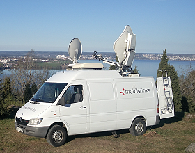 Mobile Links can provide SNG satellite trucks in Sweden, Finland, Denmark, Norway and the Baltic states.