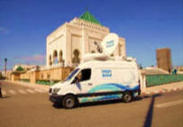 MAP provides SNG satellite truck hire in Morocco.