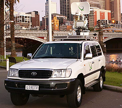 SNG TV supplies satellite uplink services throughout Australia.