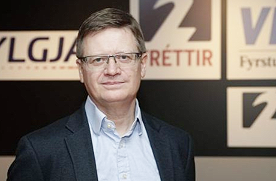Thorir Gudmundsson, Channel 2 Editor in Cief, Iceland